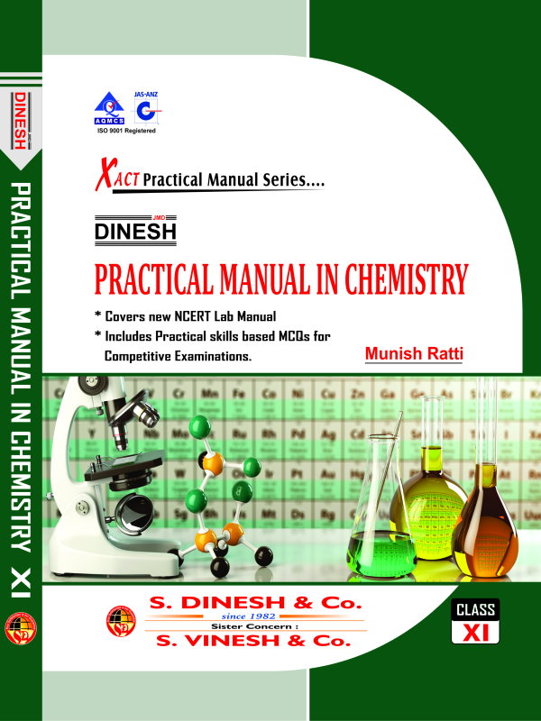 Dinesh Practical Manual In Chemistry Xi  H B