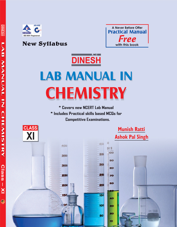 Dinesh Lab Manual In Chemistry XI(2Vol)