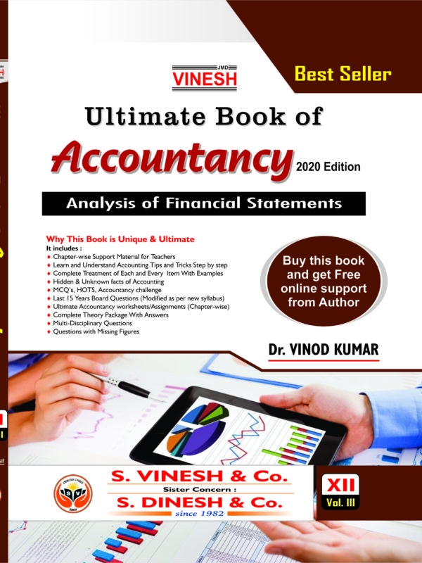 Ultimate bo books of Accountancy class 12 CBSE